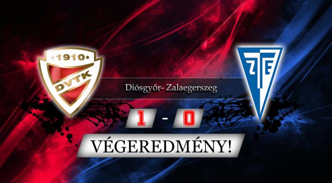 DVTK – ZTE: 3 pont, 2 piros, 1 gól